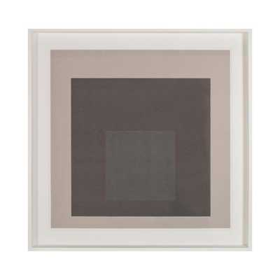 Modern Square Artwork - 37x37. Framed - AllModern
