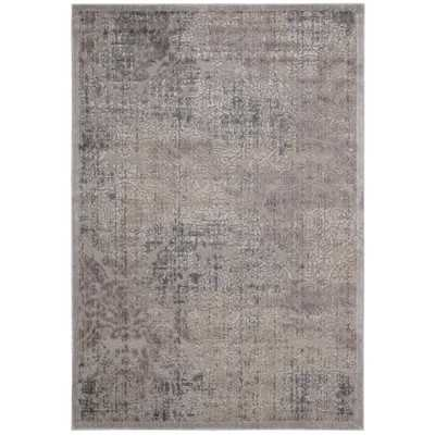 Graphic Illusions Gray Geometric Area Rug - Wayfair