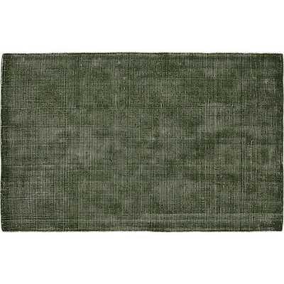 Scatter green rug 5'x8' - CB2