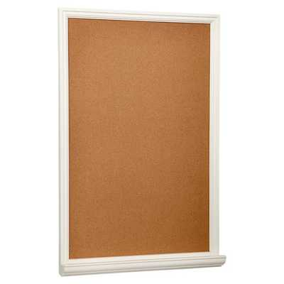 Study Wall Boards - Single White - Cork - Pottery Barn Teen