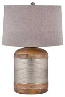 Drum Table Lamp - One Kings Lane