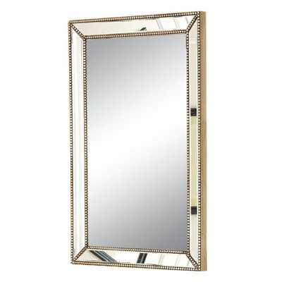 Abbyson Adora Rectangle Mirror - Gold - Target