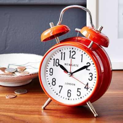 London Alarm Clock - Red - West Elm