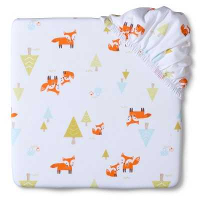 """Circoâ""""¢ Woven Fitted Crib Sheet - Woodland Trails - Target"""
