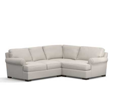 Townsend Upholstered 3 Piece Sectional With Corner - Pottery Barn