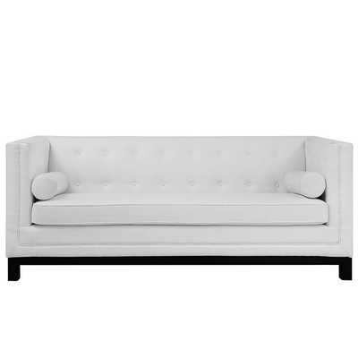 IMPERIAL SOFA IN WHITE - Modway Furniture