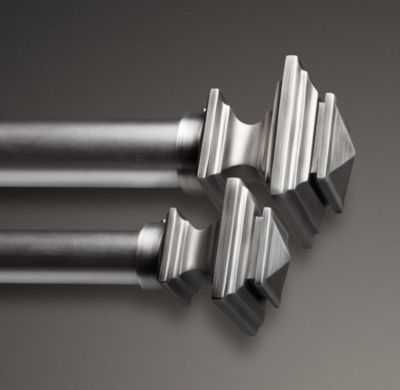 ESTATE METAL SQUARE FINIALS - RH