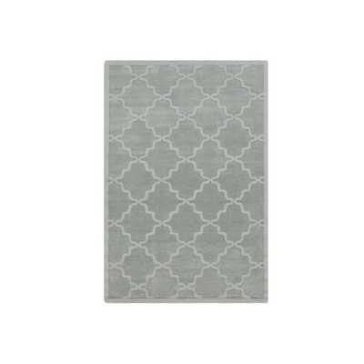 Artistic Weavers Hand-woven Amy Tone-on-Tone Lattice Wool Area Rug (9' x 12') - Overstock