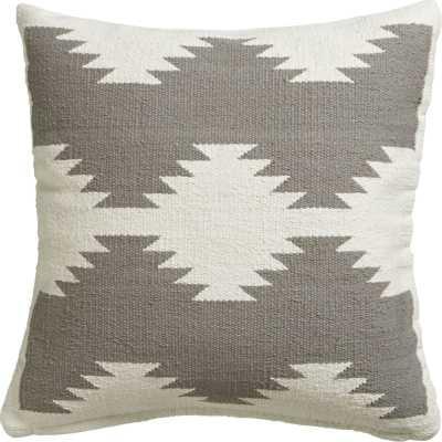 Tecca pillow - 18x18, With Insert - CB2
