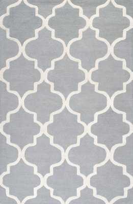 Hand Tufted Holly Area rug,  8'6x11'6, Grey - Loom 23