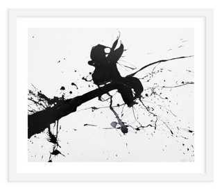 """Elaina Sullivan, Splat - 24"""" x 20"""" - Framed (white) - One Kings Lane"""