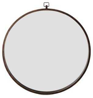 """36"""" Basic Loop Ring Mirror, Bronze - One Kings Lane"""