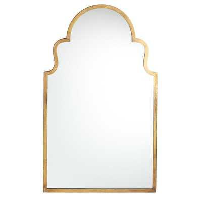 Moroccan Mirror - Bronzed - Wisteria