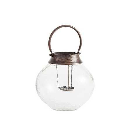Colton Brass Votive Lantern - Pottery Barn