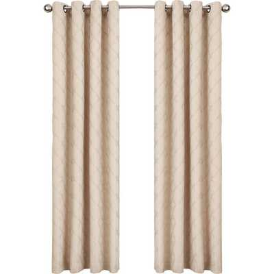 Kingston Upon Thames Single Curtain Panel - Natural, 52x63 - Wayfair