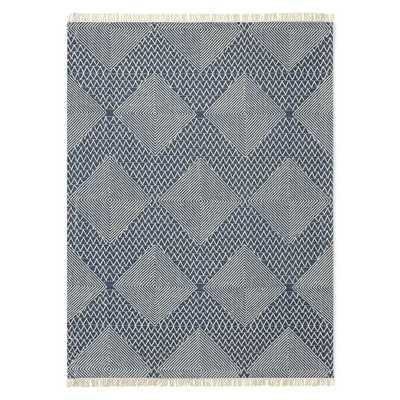 Traced Diamond Kilim Rug - 8x10 - West Elm