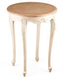 Calvin Round Side Table - One Kings Lane