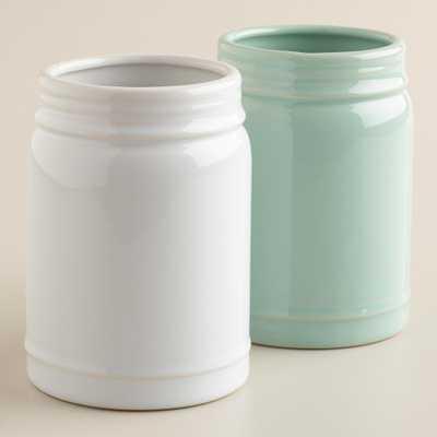 Small Mason Jar Vases - World Market/Cost Plus