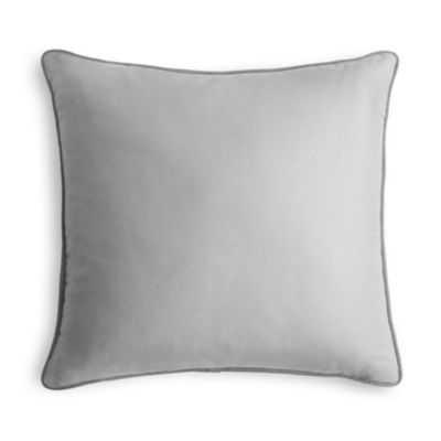 Corded Throw Pillow, Blue - 18x18 - Down insert - Loom Decor