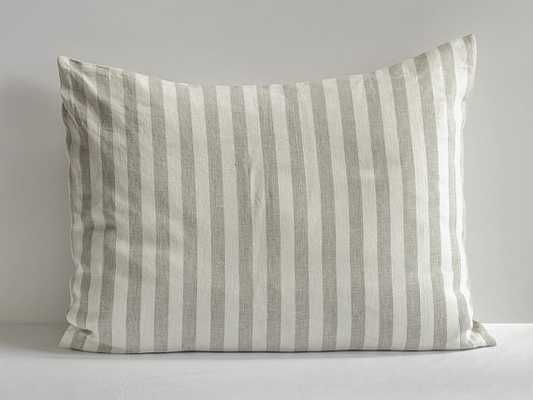 "Linen Pillow Sham Case Natural, 12x24"" - Etsy"