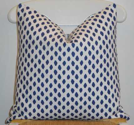 "Decorative Pillow 26""Sq Insert Sold Separately Navy - Etsy"