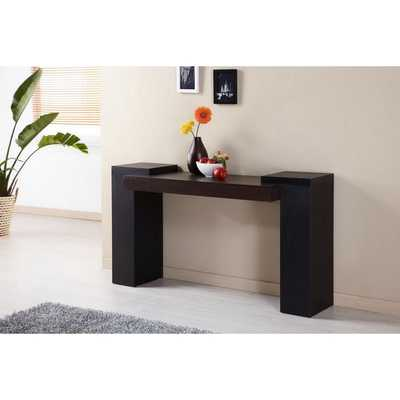 Furniture of America Modal Two-tone Console Table - Overstock
