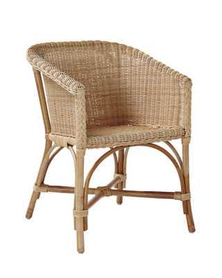 Dunbar Bucket Chair - Serena and Lily