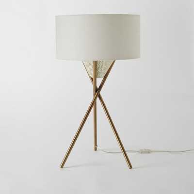 Mid-Century Tripod Table Lamp - West Elm