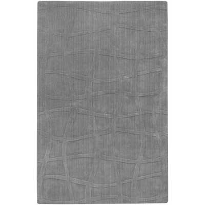 Sculpture Gray Checked Area Rug by Candice Olson - 9x13 - AllModern
