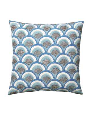 "Kyoto Pillow Covers - Marine-20""SQ-Insert sold separately - Serena and Lily"