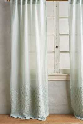 "Ophelia Curtain - Blue - 50""W x 84""L - Anthropologie"