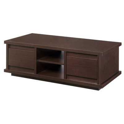 Furniture of America Irvine Contemporary Walnut Coffee Table - Overstock