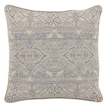 "Lourdes Pillow 22"" - Feather/Down insert - Z Gallerie"