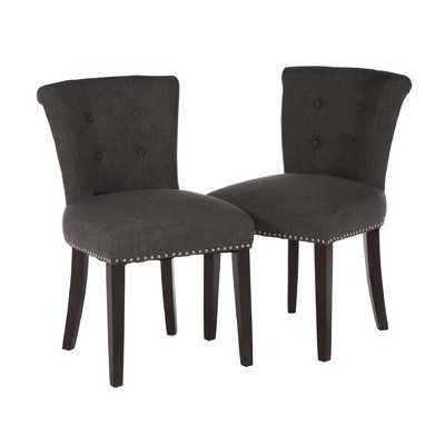 Goulding Side Chair - Set of 2 - Gray - Wayfair