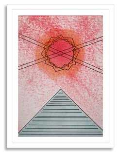 "Jonathan Sims, Aherian 13 - Framed - 25"" x 36"" - One Kings Lane"