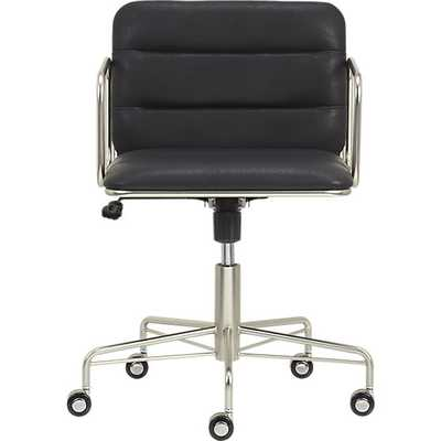 Mad black office chair - CB2