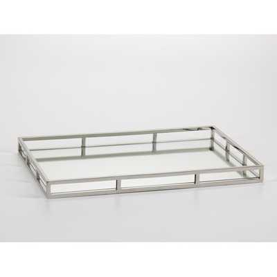 Rectangular Mirrored Tray - Large - AllModern