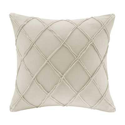 """Linen Throw Pillow - 18"""" H x 18"""" W - Poly Fill - Wayfair"""