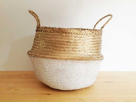 Sea Grass Belly Basket - Medium - Etsy