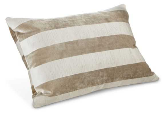 Ribbon 20w 13h Pillow - White - Feather/Down Insert Included - Room & Board