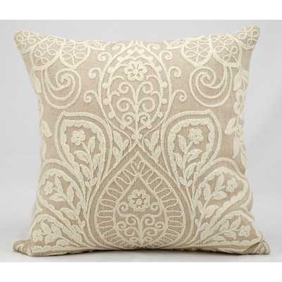 Luxury Wool Throw Pillow - 18x18 - With Insert - Wayfair