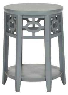 Elliot Side Table, Gray - One Kings Lane