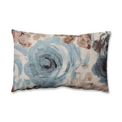 """Andora Robins Egg Rectangular Throw Pillow- 18½ """"Lx 11½ """"W-  Polyester Fiber insert - atgstores.com"""