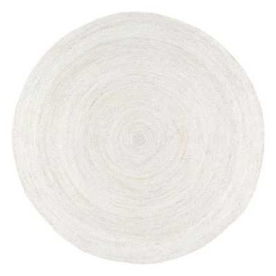 Hand Woven Rigo Jute rug - 6' Round - Loom 23