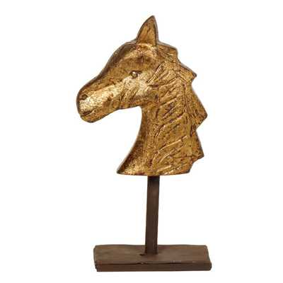 Wooden Horse Figurine - Wayfair