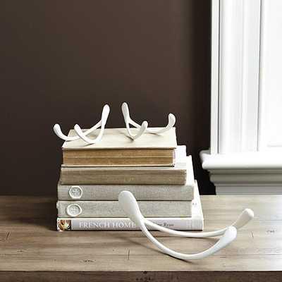 White Bisque Wishbone - Large - Ballard Designs