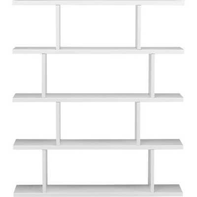 3.14 white bookcase - CB2