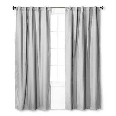Twill Light Blocking Curtain Panel - Pillowfort -42 W x 84 L - Target