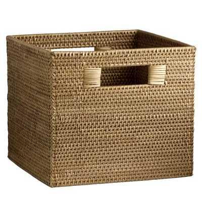 Modern Weave Storage Bin - Natural - West Elm