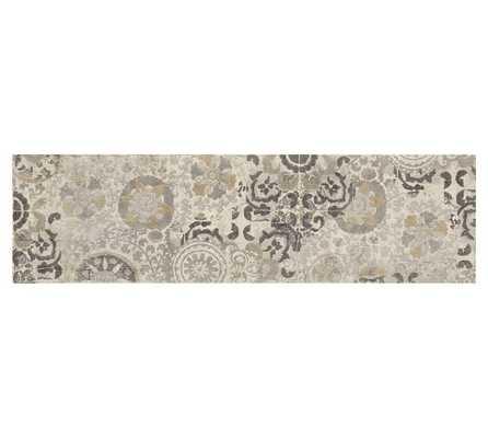 Talia Printed Rug - 2.5' X 9' - Pottery Barn